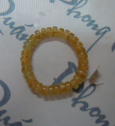 Chuỗi thạch anh vàng (hình nhẫn) TS23