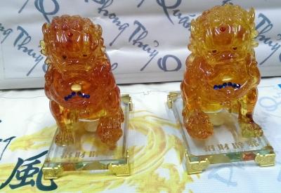 Lân sư tử vàng LV03