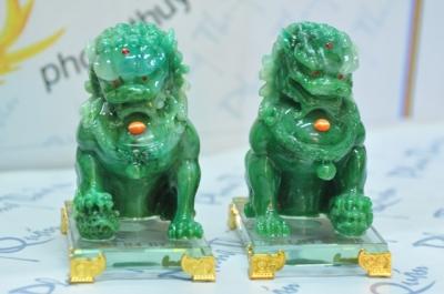 Lân sư tử xanh LV01