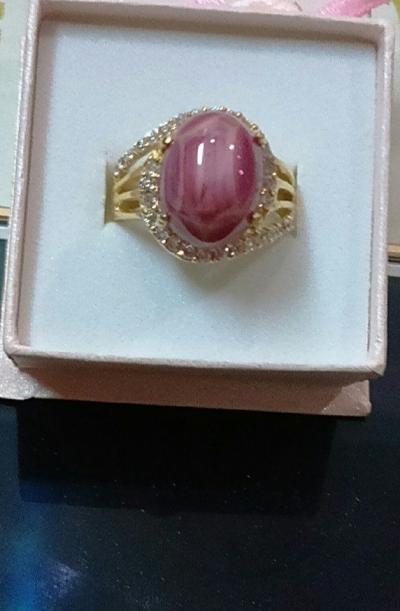 Nhẫn vàng ruby TS03