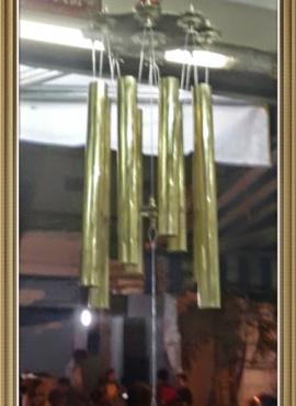 Phong linh bát bạch cửu cung liên hoa (Đ) CHL19