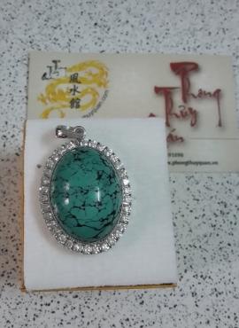 Mặt đá Turpuoise xanh TS66